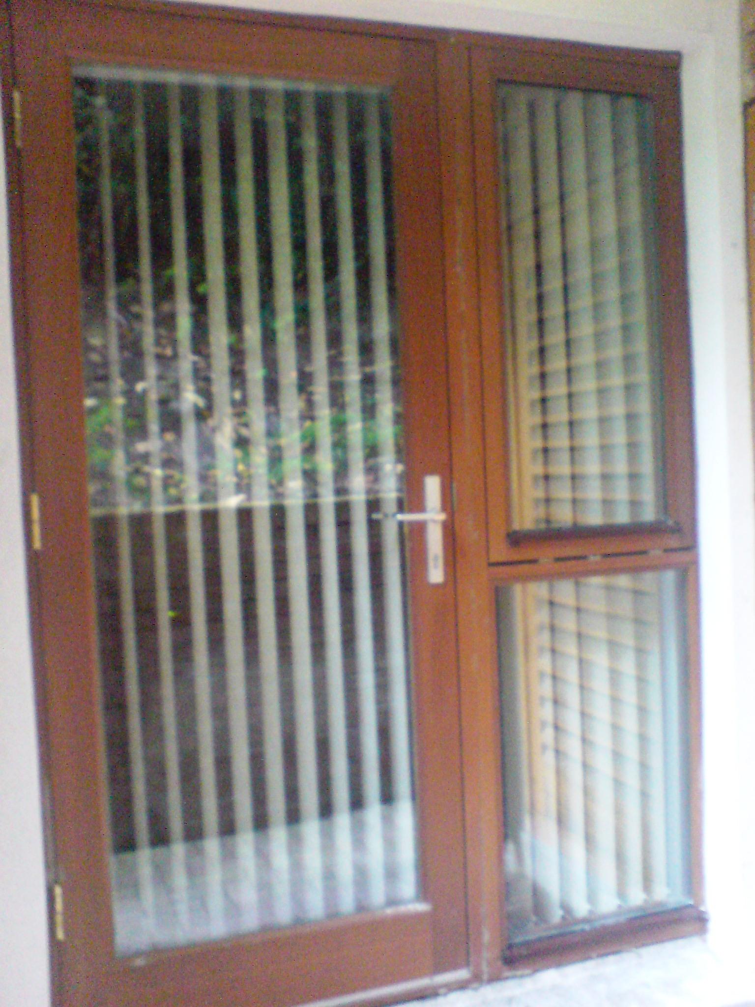 Crinken glass for Residential back doors